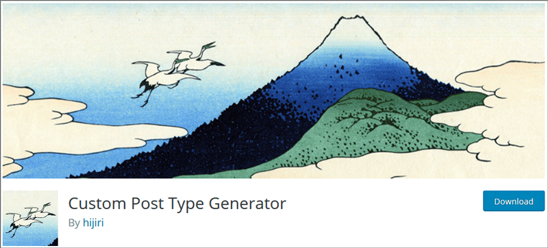 Custom Post Type Generator