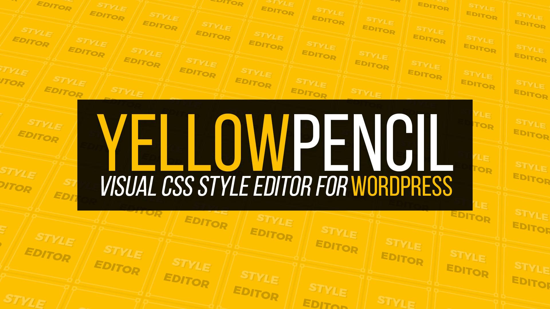 تغییرات در سایت با مداد زرد